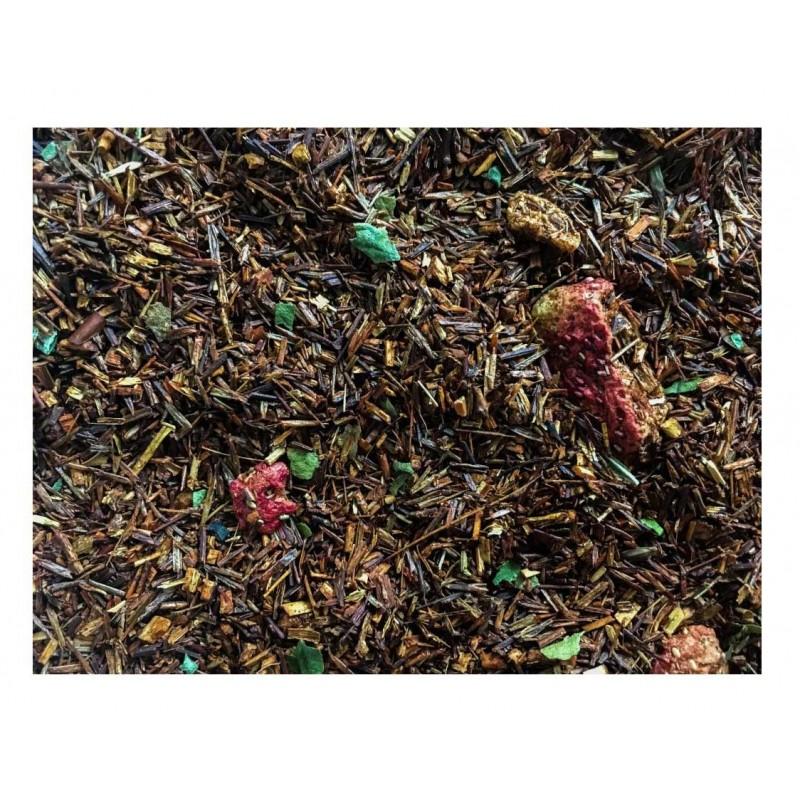 Braškių grietinėlė raudonoji arbata (100g)