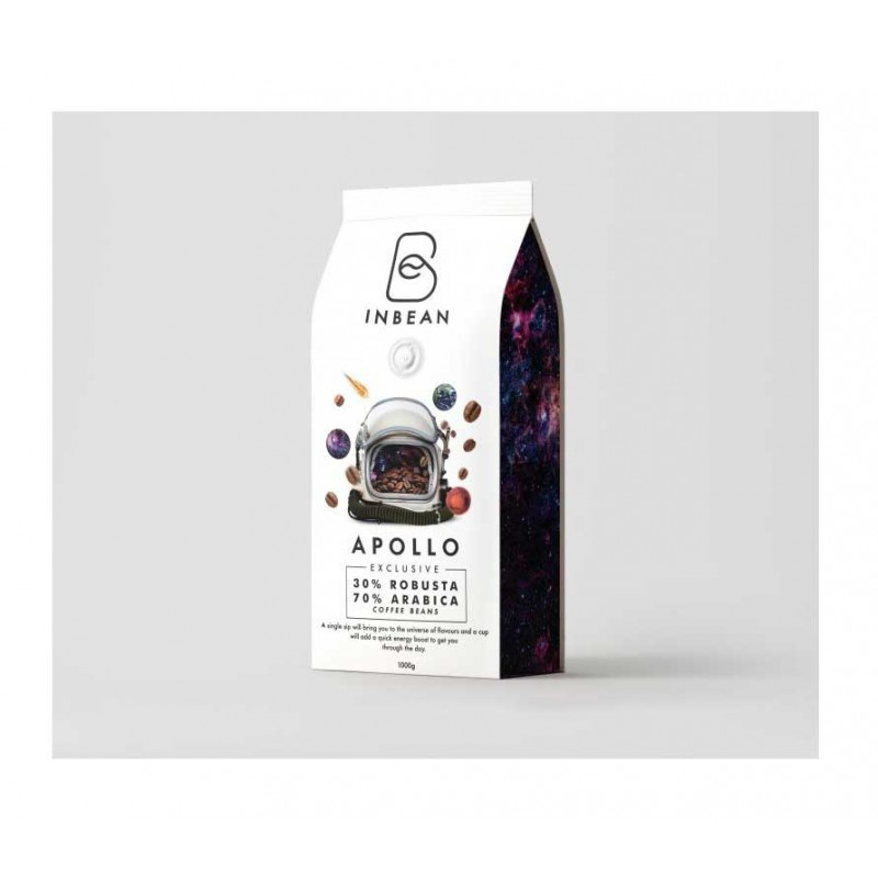 """INBEAN """"Apollo"""" kavos pupelės (1kg)"""